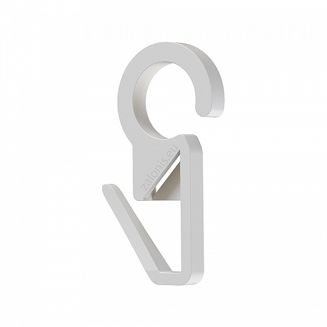 CURTAIN RAIL RING CLIP D.35 D.28 D.23 / WHITE